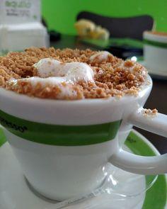 Uma maravilha da ciência chamada Cap Paçoca #deltaexpresso #capuccino #Coffee