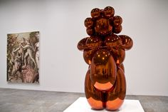 Jeff Koons Artist Retrospective Exhibition Balloon Venus Of Willendorf Orange Whitney Museum Of American Art New York