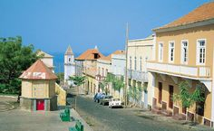 A Street in Fogo, Cape Verde