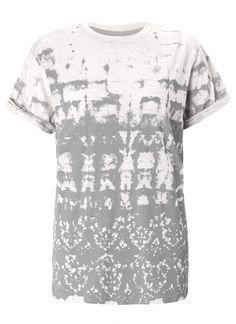 SweeWe Camilla Ecru print t-shirt