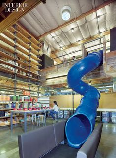 BoardHouse supplies reclaimed lumber from Northern Montana for most of the mill work and wall siding in this spectacular Toms Shoes Corporate Office. Interior Design Magazine 2012 Best of Year Awards: Creative Office - Shimoda Design