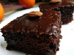 Negresa specială - imagine 1 mare No Cook Desserts, Healthy Desserts, Romanian Food, Something Sweet, Chocolate, Fudge, Cookie Recipes, Sweet Treats, Good Food
