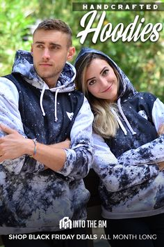 You've never seen hoodies like this before. Our new all over print hoodies are made from ultra-soft fabric, which offers unparalleled comfort and a cozy yet stylish fit and are locally made in Southern California. For a limited time only, shop our Black Friday deals all month long only at www.intotheam.com.