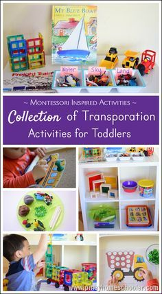 Transportation Counting Mats with Addition and Subtraction | Transportation, Math and Preschool ...