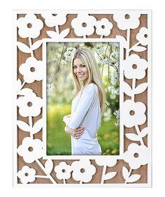 Look what I found on #zulily! Flower Pattern Frame #zulilyfinds
