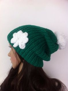 Women and  teen  irish hat / shamrock hat st. by LoreNovedades