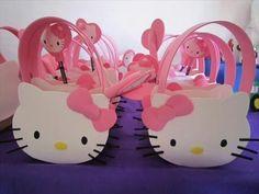 Festa em Casa - Hello Kitty - 3 anos - YouTube Bolo Da Hello Kitty, Hello Kitty Birthday, Baby Birthday, Hello Kitty Crafts, Hello Kitty Themes, Decoracion Hello Kitty, Anniversaire Hello Kitty, Hello Kitty Baby Shower, Diy For Kids