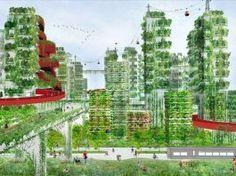 """China planeja construir a primeira """"Cidade Floresta"""" do mundo para lutar contra a poluição"""