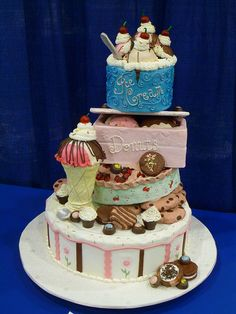 Sweets! Cake great for an ice cream party