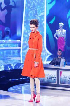 Mantel von Yvonne Warmbier gekauft von Karstadt.