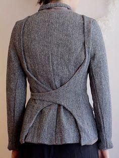 jacket back detail