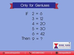 Calling all geniuses! Can you solve THIS?