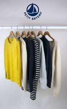 Petit Bateau new season clothing and knitwear