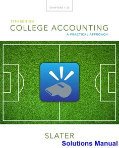 Financial management theory practice 14th edition free ebook solutions manual for college accounting a practical approach 13th edition by jeffrey slater fandeluxe Choice Image