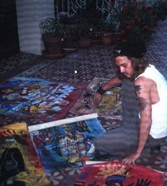 Johnny Depp is also an artist..is there anything this man can't do!?!