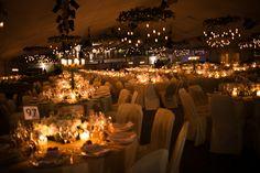 Eventia - Decoración romántica a la luz de las velas - Fotografia Eventia en exclusiva para CasarCasar