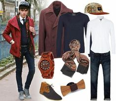 Le look #street #chic de #Stylnoxe ! http://petitlien.fr/7226  w/ #RueduCommerce, #TheWorldsOriginalFace, #Topman, #AbercrombieandFitch, #WeWood, #WoodenbowtiesFrance, #MMoustache