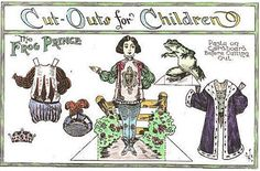 Mostly Paper Dolls: The Frog Prince and Florence Paper Dolls, 1912