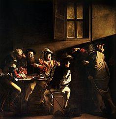 The Calling of St Matthew (Caravaggio) - Wikipedia