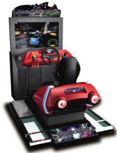 Street Racing Stars MDX-1 Mini Deluxe Video Arcade Motion Simulator Race Game | From Injoy Motion |   Get more information about this game at: http://www.bmigaming.com/games-catalog-injoy-motion.htm