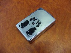 Rorschach style Zippo Lighter---by misswired, via Flickr
