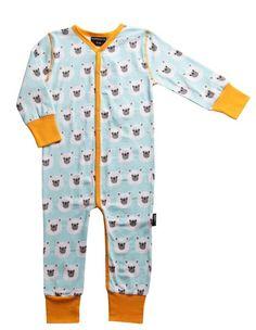 baby strampler & schlafanzug polar bear maxomorra heldenkind
