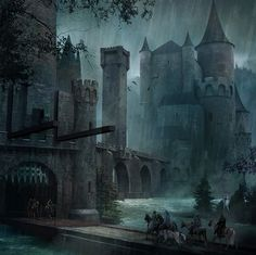 Robb Stark enters the Twins by Micheal Kormark