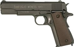 I just saw this and had to have it Tanfoglio 358003 1911 Full Metal C02 Blowback Air Pistol, Black/Brown, 4.5mm you can {read more about it here http://bridgerguide.com/tanfoglio-358003-1911-full-metal-c02-blowback-air-pistol-blackbrown-4-5mm/