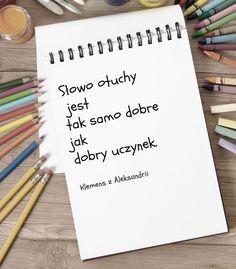 cytat słowo otuchy Notebook, Notebooks, Exercise Book, The Notebook