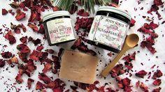 Organic Bulgarian Rose Body Care Set Organic Bulgarian Rose