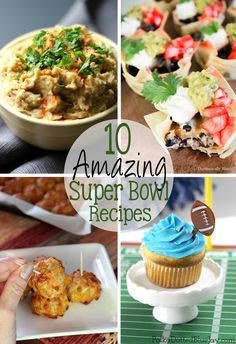 The big game is coming up in just a few days and I've put together 10 Amazing Super Bowl Recipes that are simple to make, and everyone will love!  | EverydayMadeFresh.com http://www.everydaymadefresh.com/10-amazing-super-bowl-recipes/