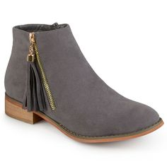 Journee Collection Trista Women's Ankle Boots, Grey