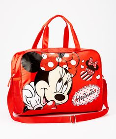 Look what I found on #zulily! Minni Mouse Duffel Bag by Minnie Mouse #zulilyfinds