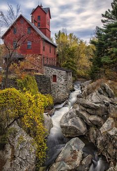 Amazing Snaps: Old Grist Mill in Jerico Vermont, USA