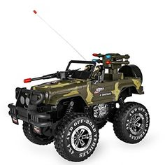 SZJJX Remote Control Car Shaft Drive Truck Large Four-wheel Drive Remote Super Off-road racing Toy Radio Controlled rc Chargeable Off-road Rock Vehicle Camouflage) -- Read more at the image link. Remote Control Drone, Radio Control, Army Decor, Toy Cars For Kids, Off Road Racing, Kids Ride On, Four Wheel Drive, Fun Events, Toy Store