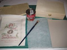 ! Lynn B 's finishing instructions for cross stitch !: Covered box for cross stitch smalls.