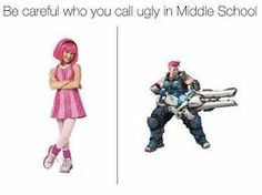 Image result for overwatch careful who you call ugly in middle school