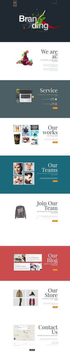 The AWESOME IDEAS is a creative, clean next generation multi page #WordPress…