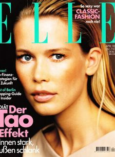 Claudia Schiffer for ELLE Gemany 1988