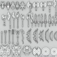 Fantasy arms set