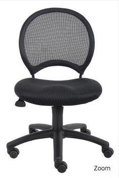 Boss Task Chairs B6215. Open mesh back designed to offer back support. $138.74 #FreeShipping http://ergoba.cc/1kFzUAa