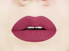 Sweet Marsala Matte Liquid Lipstick.  Glossy to Matte Liquid