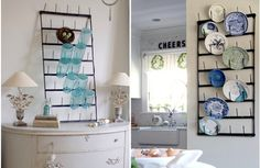 In need of some pretty kitchen storage solutions