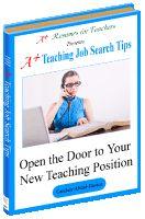 101 A+ Teaching Job Search Tips