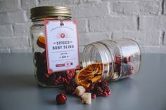 Spiced Ruby Sling Half Pint Gin Infusion Kit by Vena's Fizz House on Gourmly
