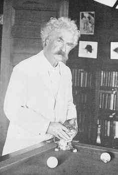 The American author Mark Twain, revered for writing classic novels such as Adventures of Huckleberry Finn , A Connecticut Yankee in King Art. Huckleberry Finn, Crazy Cat Lady, Crazy Cats, Celebrities With Cats, Celebs, Men With Cats, Albert Schweitzer, Joey Ramone, Ernest Hemingway