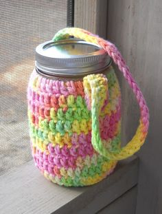 water jar cozy   a tiny forest
