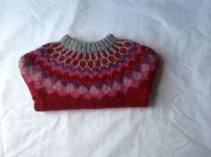 Icelandic sweater 4 year jumper  unisex sweater by Klettur on Etsy