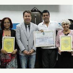 Blog do Adriano Dias: Entrega do Titulo de Cidadania Iguaçuano
