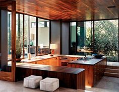 The Mid Century Modern Neighborhoods Atlanta is Best Fresh Home Design and Interior Decorating Architecture Ideas of The Year House Design, Interior Design Kitchen, Indoor Outdoor Kitchen, Kitchen Design Open, Interior Design, House, Home, Modern House, Indoor Outdoor Living